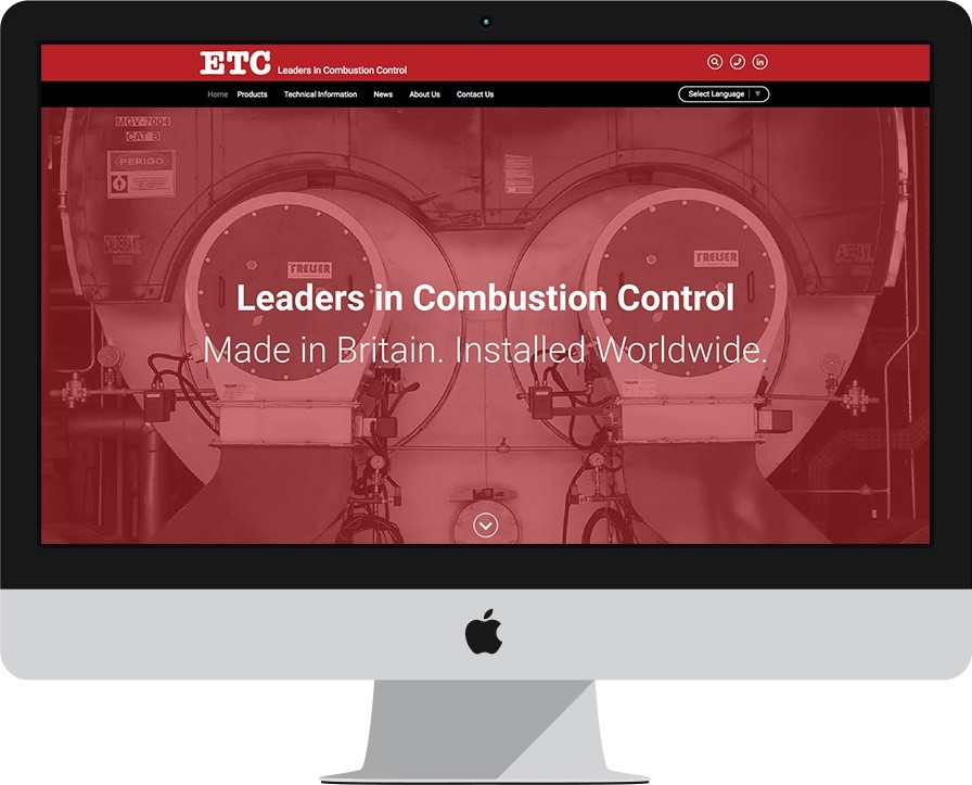 ETC launches responsive new website