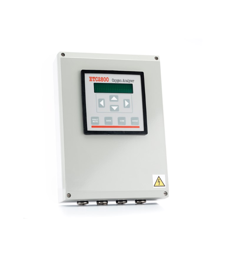 Flue Gas Oxygen Analyser